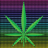 Cannabis icon Stock Images