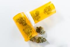 Cannabis Indica Knop (voor geneeskrachtige doeleinden) royalty-vrije stock foto's
