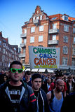 Cannabis liberation march Royalty Free Stock Photography