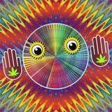 Cannabis makes you stupid Stock Photo