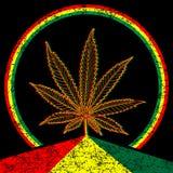 Cannabis-Marijuana-background Stock Photos