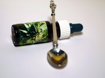 Cannabis oil Royalty Free Stock Images