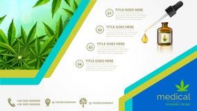 Free Cannabis Or Marijauna Medical Poster Desing Stock Photo - 155067750