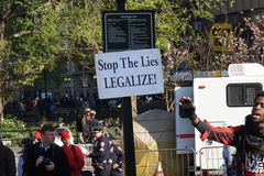 The 2015 Cannabis Rally 22 Royalty Free Stock Photography