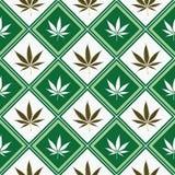 Cannabis seamless texture royalty free stock photo