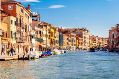 Cannaregio Canal in Venice, Italy Royalty Free Stock Photos