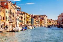 Cannaregio Canal in Venice, Italy Royalty Free Stock Photos