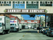 Cannary Row, Monterey Royalty Free Stock Image