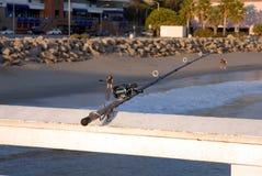 Canne à pêche Image stock