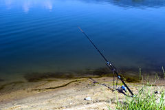 Canne à pêche Photo libre de droits