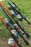 Canne da pesca Immagini Stock Libere da Diritti