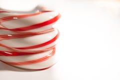 Canne de sucrerie Photos libres de droits