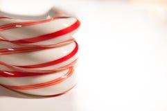 Canne de sucrerie Image stock
