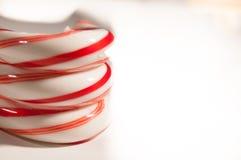 Canne de sucrerie Photographie stock