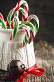 Canne de sucrerie Photographie stock libre de droits