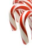 Canne de sucrerie de Noël Photos libres de droits