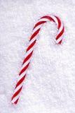 Canne de sucrerie de sucre de Noël Images stock