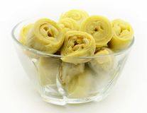 Canned artichokes Stock Image