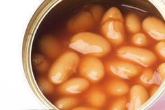 Canned Baked Beans Royalty Free Stock Image