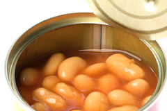 Canned Baked Beans Stock Photography