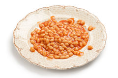 Canned beans Stock Image