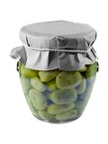 Canned Broad Beans Stock Photo