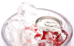 Canned Cola Drinks I Royalty Free Stock Image