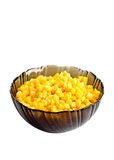 Canned corn royalty free stock photos