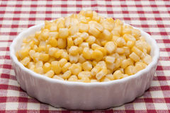 Canned corn Royalty Free Stock Photo