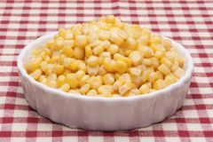 Canned corn Stock Images