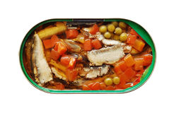 Canned fish Stock Photos