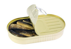 Canned fish royalty free stock image
