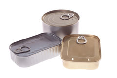 Canned fish Royalty Free Stock Photo