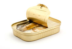 Canned fish Stock Photo