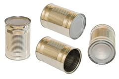 Canned food Stock Photos