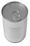 Canned food. Isolated royalty free stock photo