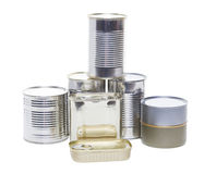 Canned Goods Royalty Free Stock Image