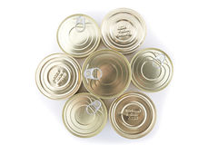 Canned goods Royalty Free Stock Photo