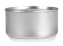 Canned. Isolated royalty free stock photos