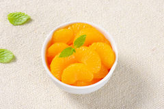 Canned Mandarin Oranges Stock Images