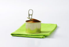 Canned pate Stock Images