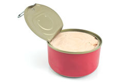 Canned pate Royalty Free Stock Images