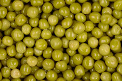 Canned peas Stock Photo