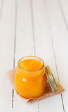 Canned Pumpkin Puree Stock Images