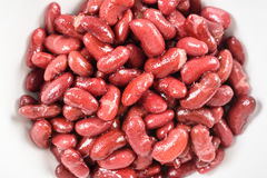 Canned Red Kidney Beans In Bowl Royalty Free Stock Photo