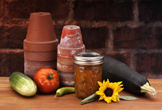 Canned relish Stock Images