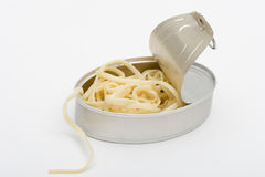 Canned spaguetti Royalty Free Stock Photo