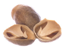 Canned Straw Mushrooms Isolated
