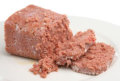 Canned or Tinned Corned Beef Royalty Free Stock Image