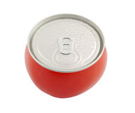 Canned tomato isolated Royalty Free Stock Photography